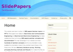 Slidepapers.in thumbnail