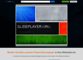 Slideplayer.org thumbnail