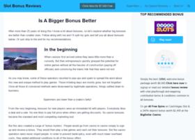 Slotbonuses.info thumbnail