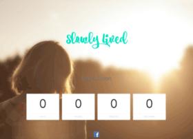 Slowlylived.co.uk thumbnail