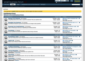 Small-business-forum.net thumbnail