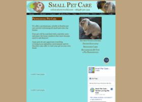Smallpetcare.co.uk thumbnail