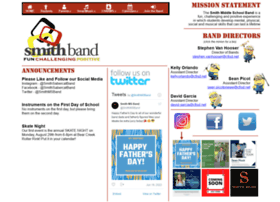 Smithband.org thumbnail