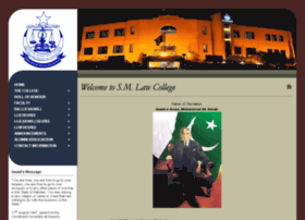 Smlawcollege.edu.pk thumbnail