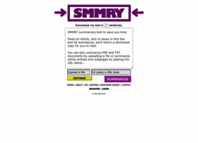 Article summary generator