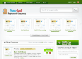 Snapdeal coupons february 2018