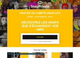 Snapprivate.fr thumbnail