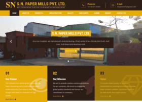 Snpapermills.com thumbnail
