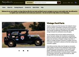 Snyders Model A >> Snydersantiqueauto Com At Wi Snyder S Antique Auto Parts