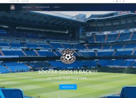 Soccergods.co.uk thumbnail