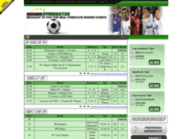 Soccersyndicates.com thumbnail
