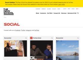 Social.newschool.edu thumbnail