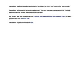 Socialezekerheidsstelsel.nl thumbnail