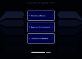 Socialnetworkingscript.store thumbnail