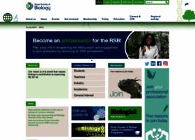 Societyofbiology.org thumbnail