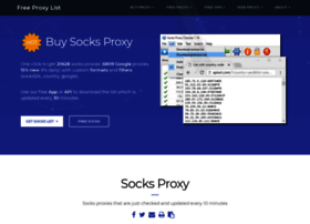 Socks-proxy.net thumbnail