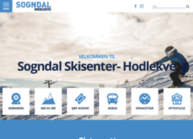 Sogndalskisenter.no thumbnail