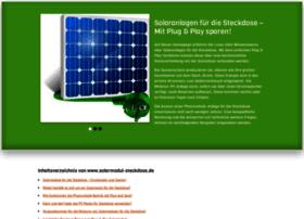 Solarmodul-steckdose.de thumbnail