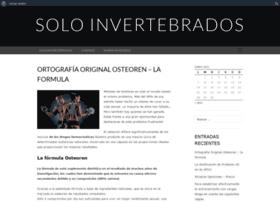 Soloinvertebrados.es thumbnail