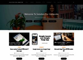 Solutionforcomputer.com thumbnail