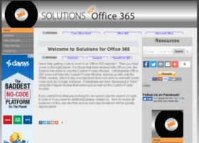 Solutionsforofficelive.com thumbnail