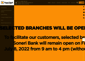Soneribank.com thumbnail