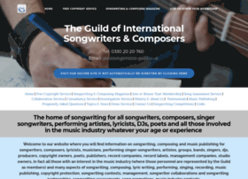 Songwriters-guild.co.uk thumbnail