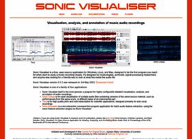 Sonicvisualiser.org thumbnail