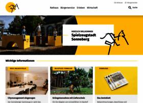 Sonneberg.de thumbnail