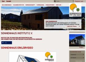 Sonnenhaus-institut.de thumbnail