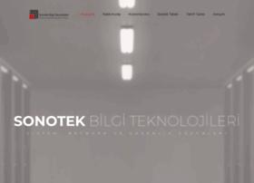 Sonotek.com.tr thumbnail