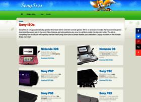 Sonyisos.com thumbnail