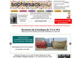 Sophiesacs.com thumbnail