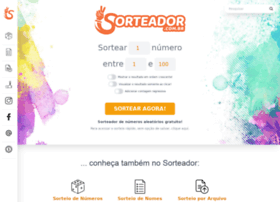 Sorteador.com.br thumbnail