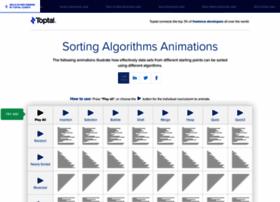 Sorting-algorithms.com thumbnail