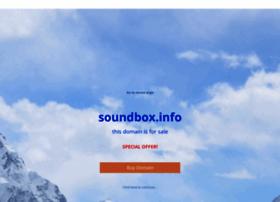 Soundbox.info thumbnail