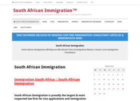 Southafricanimmigration.org thumbnail