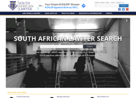 Southafricanlawyer.co.za thumbnail