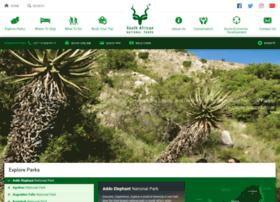 Southafricanparks.co.za thumbnail