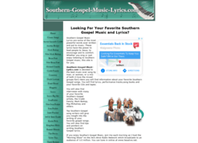 Southern-gospel-music-lyrics.com thumbnail