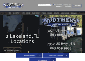 Southernwholesaletrailer.com thumbnail