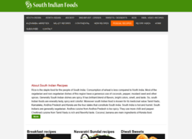 Southindianfoods.in thumbnail