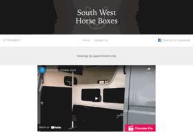 Southwesthorseboxes.co.uk thumbnail