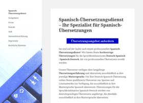 Spanisch-uebersetzungsdienst.de thumbnail
