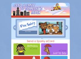 Sparkycards.org thumbnail