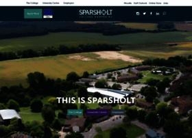 Sparsholt.ac.uk thumbnail