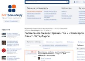 Spbtreningi.ru thumbnail