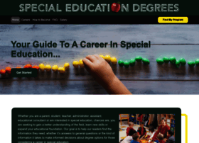 Special-education-degree.net thumbnail