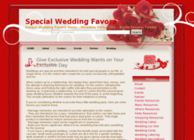 Specialweddingfavor.info thumbnail