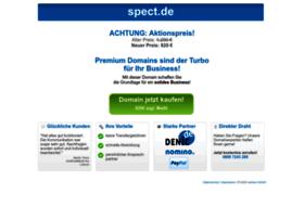 Spect.de thumbnail